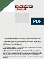 RISCOS DE CHOQUES ELETRICOS