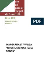 PLAN DE DESARROLLO MARGARITA SI AVANZA OPORTUNIDADES PARA TODOS.pdf
