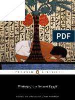 Toby Wilkinson - Writings From Ancient Egypt