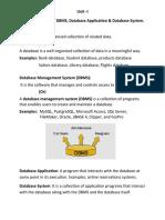 RDBMS FILES