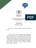 SENTENCIA AP284-2020 (RAD 54806) VALIDEZ DECLARACION POLICÍAS CAPTURA PORTE ILEGAL DE ARMAS DE FUEGO
