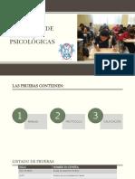 CATÁLOGO DE PRUEBAS PSICOLÓGICAS actualizado 2020