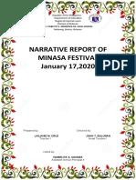 Minasa Festival Narrative 2020