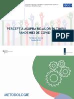 IRES_AGENTIA IMPREUNA_Perceptia Romilor in Timpul Pandemiei Covid-19_2020