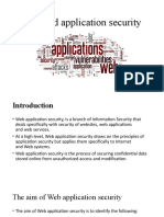 Intro_Web and application security