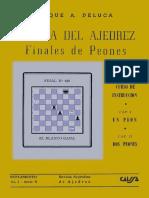 Deluca Roque - Tecnica del ajedrez. Finales de peones, 1954-OCR, 120p.pdf