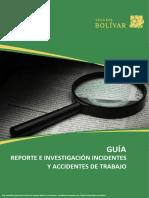 Guía investigación incidentes y accidentes