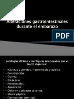Alteraciones Gastrointestinales Durante El Embarazo