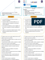 Estrategias 1.1 Habilidades Intelectuales. Vocabulario