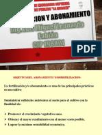 FERTILIZACION Y ABONAMIENTO I