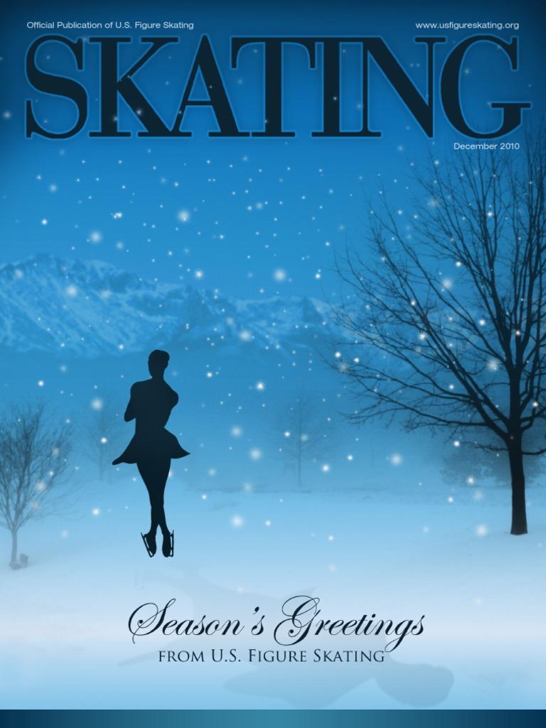 December Magazine | Figure Skating | Winter Olympic Games