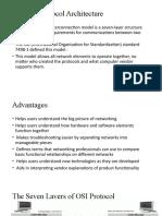 The OSI Protocol Architecture Presentation