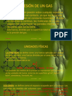 PRESIÓN DE UN GAS  SEMANA 03