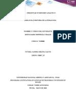 Deivis _ Nispreuza _Paso 2 – Presentar un resumen analítico foro