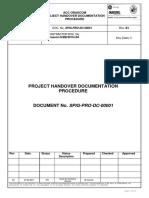 Acc Orascom Project Handover Documentati