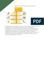 SAP Cloud sourcing