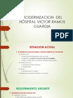 Propuesta de Modernizacion Del Hospital Victor Ramos Guardia de Huaraz