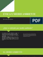 Clase N°5. Etica y Medio Ambiente