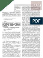 Resolución de la Fiscalía de la Nación Nº 737-2020-MP-FN