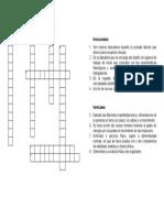 Crucigrama - copia