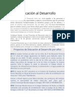 Educación al Desarrollo