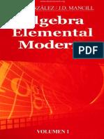 Álgebra Elemental Moderna - M. O. Gonzalez & J. D. Mancil (Volumen I)_.pdf