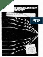 High Energy Astronomy Observatory