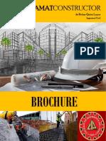 Brochure Ramat constructor Servicios