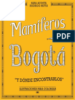 Mamíferos de Bogotá