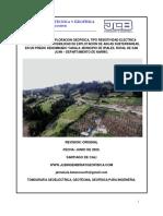 ESTUDIO GEOLECTRICO ROSAL DE SAN JUAN 2020