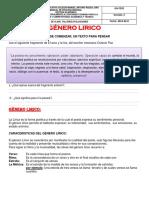 Genero Lirico- 2 PERIODO......EMERGENTE