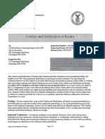 Leap OSHA penalty