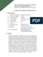 SILABO RESISTENCIA DE MATERIALES PLAN1996