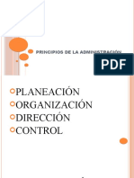 MODULO 5 PRINCIPIOS DE LA ADMINISTRACIÓN