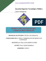 PRODUCTOS NATURALES DEL LABORATORIO OMNILIFE