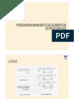 clase 11 - Predimensionamiento estructural