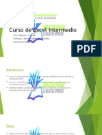 Curso Excel Intermedio 11junio
