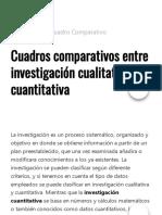 Cuadros comparativos entre investigación cualitativa y cuantitativa _ Cuadro Comparativo