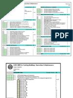 LEEDS Existing Bldg Checklist