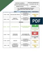 AGENDA VIRTUAL 9°- MARTES 30 DE JUNIO DEL 2020