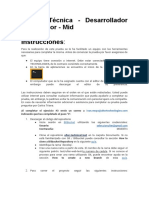 Instrucciones prueba técnica - Ingeniero Web Junior - Ulter Technologies.docx