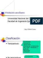 PRODUCTOS AUXILIARES II