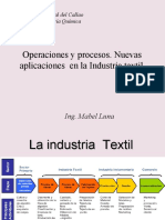CLASE 1 La Industria textil. Fibras textiles