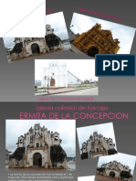 presentacion iglesias de totonicapan, guatemala