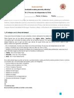 Guía 3 y 4 La Independencia De Chile- OA2