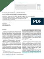 Sistematica diagnostica en la hiperferritinemia
