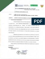 OFICIO SOLICITUD DE DOTACIÓN DE TABLETS DE LA I.E N°31290