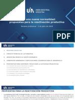 Propuestas para la Reactivación Productiva - UIA 2020.07.02 - versión preliminar