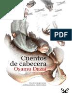 Cuentos de cabecera - Osamu Dazai.pdf