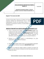 Circular Medidas Preventivas Covid 19